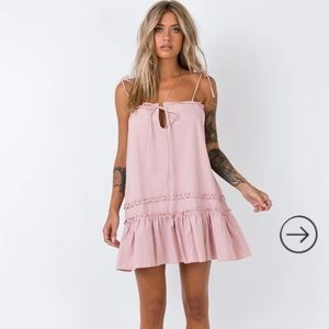 princess poly Armada Mini Dress Blush